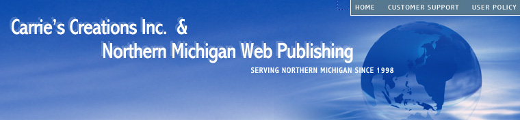 Website Design and Hosting for Northern Michigan